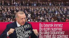 Cumhurbaşkanı Erdoğan'ın ayakta alkışlanan sözleri