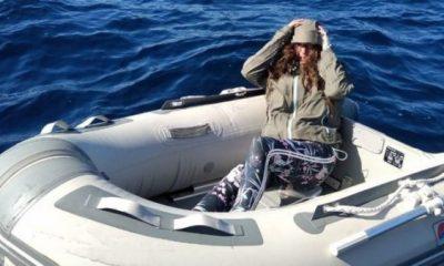 Denizde kaybolan turist lolipop yiyerek kurtuldu