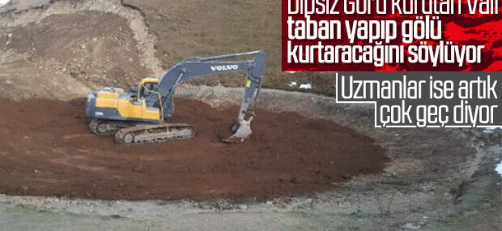 Dipsiz Göl'ün eski haline dönmesinin şartı: Kar