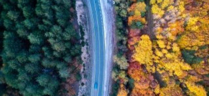 Domaniç Dağları'ndan rengarenk sonbahar görüntüleri
