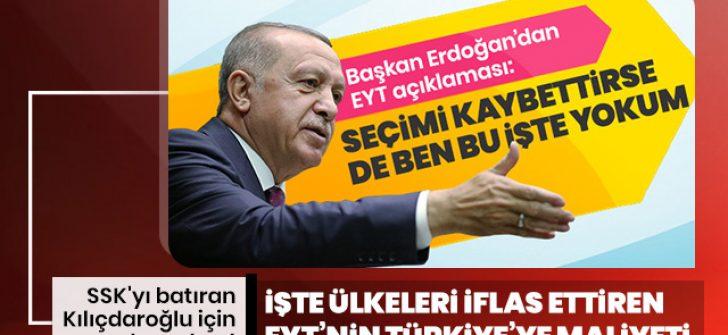 Hesap yapılınca ortaya çıktı! EYT'nin Türkiye'ye yıllık maliyeti en az 100 milyar TL