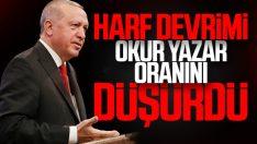 Erdoğan, Atatürk'ü anma töreninde konuştu