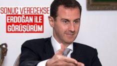 Esad'a, Erdoğan ile görüşme soruldu
