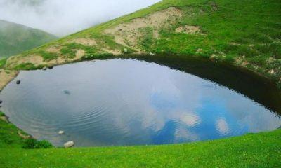 Gümüşhane'deki Dipsiz Göl'ün artık suyu yok