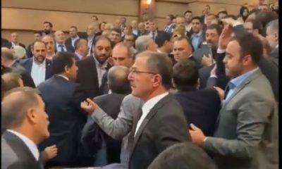 İBB Meclisi'nde kavga çıktı
