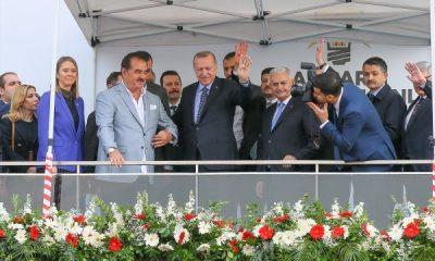 İbrahim Tatlıses, İzmir'de Erdoğan'ın yanında