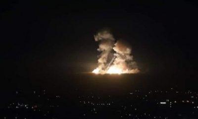 İsrail, Suriye'de rejim ve İran hedeflerini vurdu