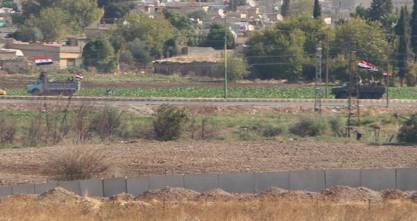 Kamışlı'da rejim güçleri, YPG kontrolündeki bölgeye geçti -3