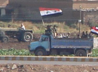 Kamışlı'da rejim güçleri, YPG kontrolündeki bölgede