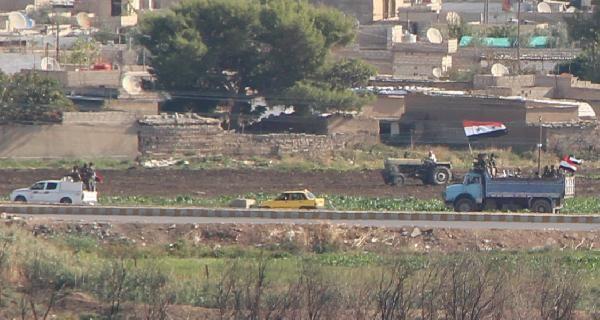 Kamışlı'da rejim güçleri, YPG kontrolündeki bölgeye geçti -7