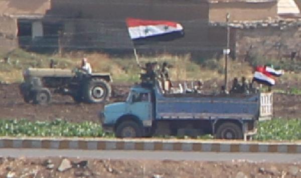 Kamışlı'da rejim güçleri, YPG kontrolündeki bölgeye geçti -1