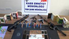 Kars'ta PKK/KCK operasyonunda 9 kişi gözaltına alındı