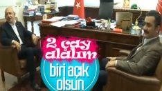 Kemal Kılıçdaroğlu Eren Erdem'i kabul etti