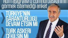 KKTC'de halk 'Türkiye' dedi