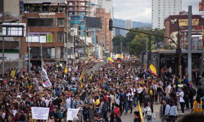 Kolombiya'da genel grev protestolarında yedinci gün