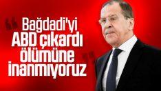 Lavrov: ABD'nin söyledikleri teyit edilemiyor