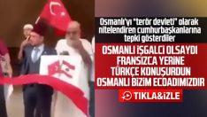 Lübnan'daki gösterilerde Türk bayrakları ve Osmanlı övgüsü
