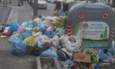 Maltepe'de çöp sorunu devam ediyor
