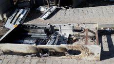 Mardin'de kaçak elektrik panolarını yaktılar