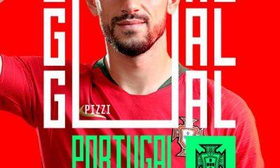 Portekiz'den asker selamlı gol sevinci paylaşımı!