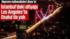 Prof. Dr. Erdik: İstanbul'daki altyapı Osaka'da yok