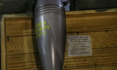 Resulayn'da ABD'ye ait mühimmat bulundu