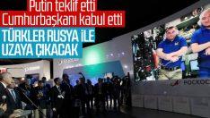 Rusya, Türk vatandaşlarını uzaya götürecek