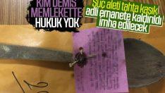 Samsun'da suç aleti sayılan tahta kaşık imha edilecek