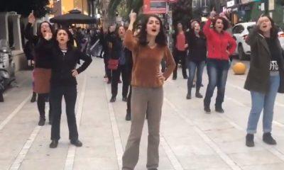 Şili'de feministlerin başlattığı dans gösteresi Türkiye'de