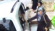 Sivas'ta sürücünün ilginç kazası