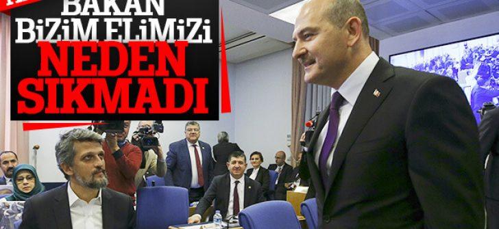 Süleyman Soylu, HDP'lilerin elini sıkmadı