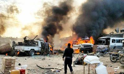 Terör örgütü PKK/YPG Tel Halef'te bombalı araçla saldırdı