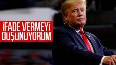 Trump: Azil süreciyle ilgili ifade vermeyi düşünüyorum