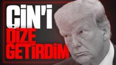 Trump, Çin'i mağlup ettiğini düşünüyor