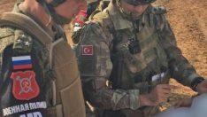 Türk ve Rus askerlerinin ilk devriyesi tamamlandı