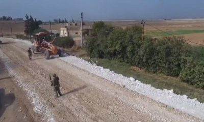 Türkiye, Tel Abyad'ın yol sorununu çözdü