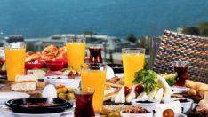 Türkiye'de serpme kahvaltı israfı