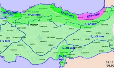 Yurt genelinde yağmur etkisini gösterdi
