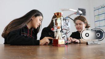 Yangın söndürme robotu'yla dünya ikincisi oldu