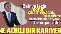 Sabah yazarından Abdullah Gül portresi