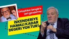 Osmanlı'yı anlamayanın İskenderiye hamalı kadar değeri yoktur