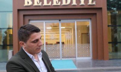 Amasya'da yaralı güvercin belediyeye sığındı