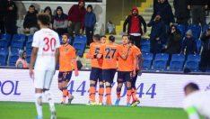 Başakşehir'in yenilmezlik serisi 11 maça çıktı