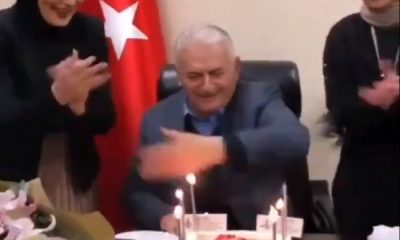 Binali Yıldırım'ın doğum günü kutlandı