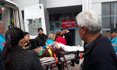 Burdur'da cenaze dönüşü trafik kazası: 1 ölü, 4 yaralı