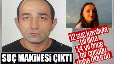 Ceren Özdemir'in katilinin sicili kabarık