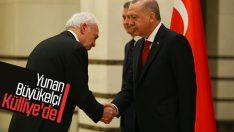 Cumhurbaşkanı Erdoğan Yunan Büyükelçi'yi kabul etti