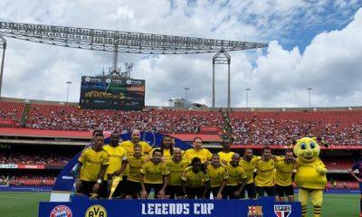 Efsaneler turnuvasını Sao Paulo kazandı