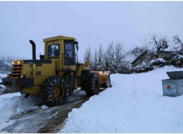 Elazığ'da karda mahsur kalan 40 orman işçisi kurtarıldı