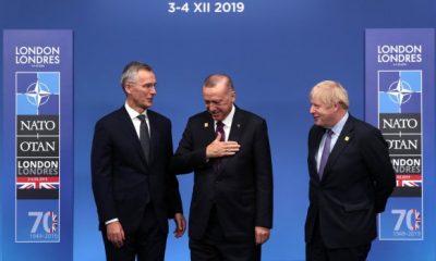 Erdoğan NATO Liderler Zirvesi'nde aile fotoğrafı verdi
